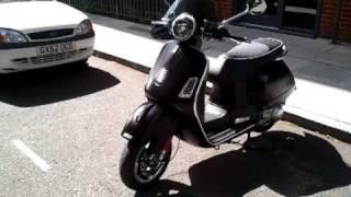 6. 2011 Vespa GTS 300 Super Sport
