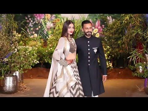 العرب اليوم - شاهد: حفلة زفاف الممثلة سونام كابور