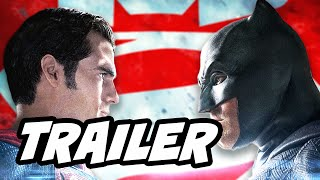 Batman v Superman Superbowl Trailer Breakdown and Easter Eggs