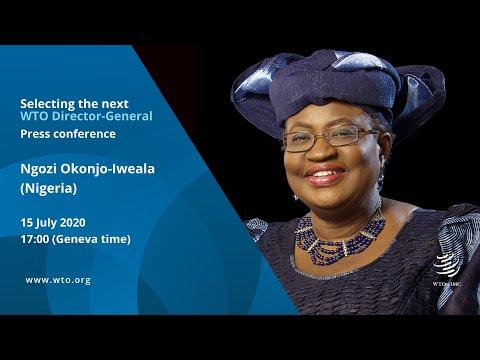 Press conference by Ngozi Okonjo-Iweala