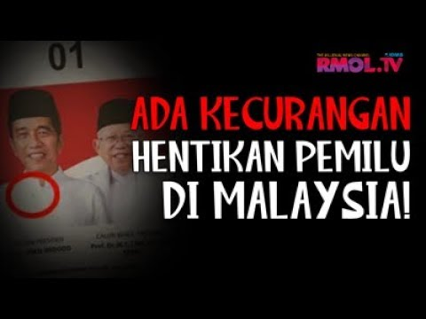 Ada Kecurangan, Hentikan Pemilu Di Malaysia!