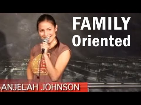 Family Oriented - Anjelah Johnson - Stand Up Comedy (Funny Videos)