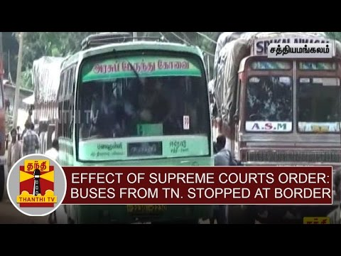 Effect-of-Supreme-Courts-Order--Buses-From-Tamilnadu-are-Stopped-at-Karnataka-Border