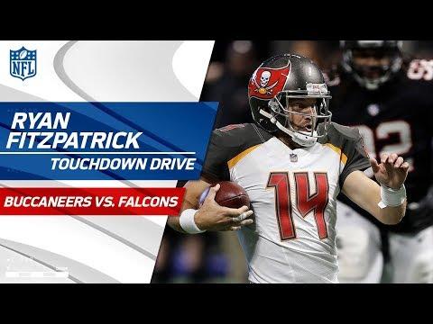 Video: Ryan Fitzpatrick Makes Huge Plays on TD Drive vs. Atlanta! | Bucs vs. Falcons | NFL Wk 12 Highlights