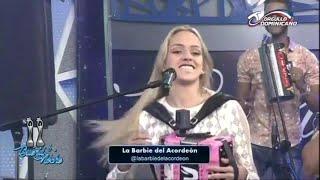 Presentación Musical de La Barbie del Acordeón En Buena Noche TV