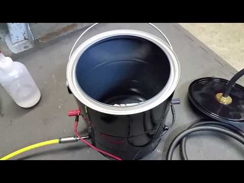 how to make an evap smoke machine