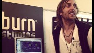 burn studios residency 2012 - Episode 4/7 feat. David Guetta