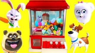 Secret Life of Pets Play CLAW MACHINE Game with Toy Surprises! Blind Bags and Fashems! full download video download mp3 download music download