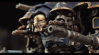 Mini-Warlord Titan - Imperial Knight Castellan - First Look (WH40K)