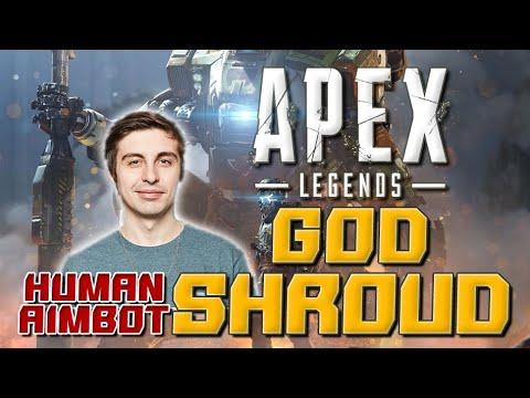 """被稱為神的玩家-人體外掛""""Shroud"""