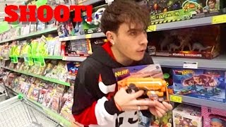Video HUNTING IN THE SUPERMARKET GOT US KICKED OUT - VLOGMAS MP3, 3GP, MP4, WEBM, AVI, FLV Mei 2018