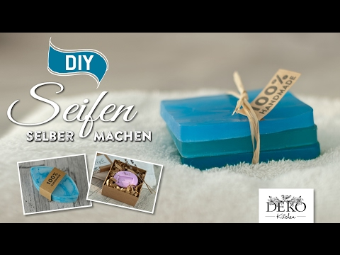 DIY: ausgefallene Seifen selber machen [How to] Deko Kitchen
