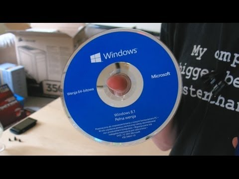 Quick Unboxing - Microsoft OEM Windows 8.1 x64 DVD (Szybka Rozpaka) | 04.2014 - McSzakalTV