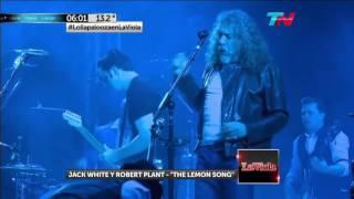 The Lemon Song - Robert Plant & Jack White (Live)