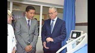 """وزير الصحة""""البروفيسور الحسين الوردي """" يفتتح مستشفى العيون سيدي ملوك"""