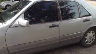 видео авто Mercedes-Benz S 420 в кредит