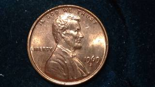 Type: Lincoln PennyYear: 1969Mint Mark: SFace Value: 0.01 USDTotal Produced: 544,375,000Silver Content: 0% Numismatic Value: 1 cent to $12.00Value: As a rough estimate of this coins value you can assume this coin in average condition will be valued at somewhere around 1 cent, while one in certified mint state (MS+) condition could bring as much as $12 at auction. This price does not reference any standard coin grading scale. So when we say average, we mean in a similar condition to other coins issued in 1969, and mint state meaning it is certified MS+ by one of the top coin grading companies.Additional Info: 2,934 Lincoln proofs issued this year at the mint. They are included in the numbers above.