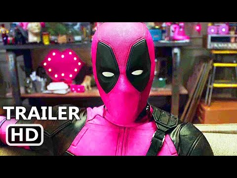 DEADPOOL 2 Pink Suit Trailer (2018) Ryan Reynolds Marvel Superhero Movie HD