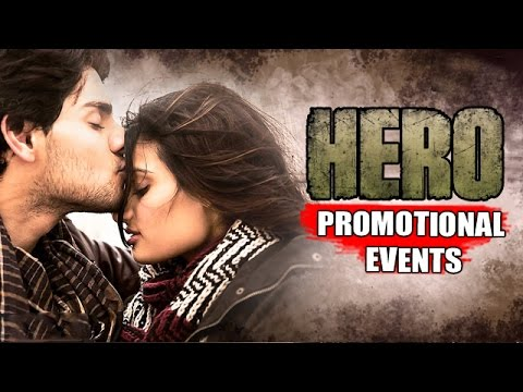 HERO Movie (2015) | Sooraj Pancholi, Athiya Shetty | Uncut Promotional Events