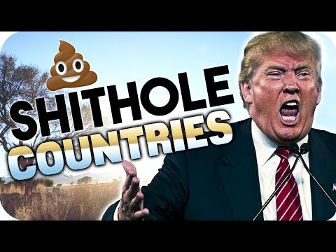 "Trump - ""S**thole Countries"" - Shithole Statement by Namibia"