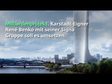 235 Meter: Der Elbtower soll das höchste Gebäude Ha ...