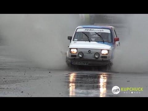 Opiola / Grabowska - Fiat 126p | Szombierki Rally Cup 2017 ? 3 runda