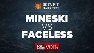Mineski vs Team Faceless, Dota Pit Season 5, game 1 [Lex, 4ce]