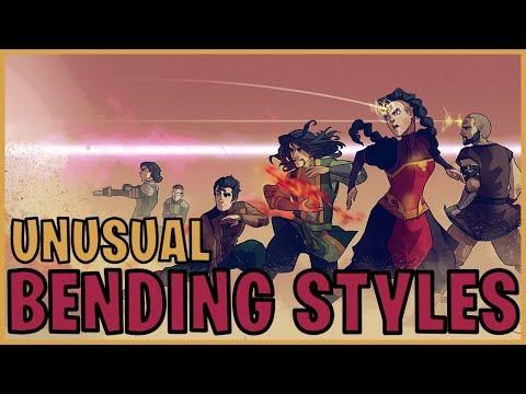Unusual Bending Styles (Avatar)