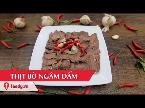 Chia sẻ các làm thịt bò ngâm dấm chín tái mềm ngon miệng