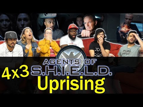 Agents of Shield - 4x3 Uprising - Group Reaction