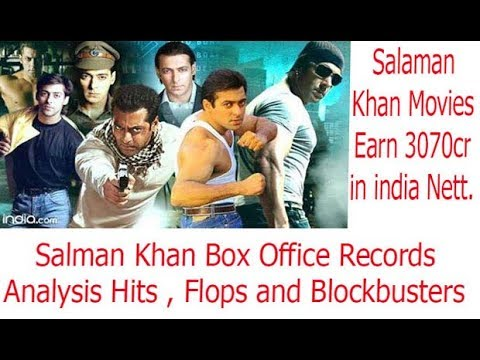 Salman Khan Box Office Records , Hits , Flop and Blockbuster
