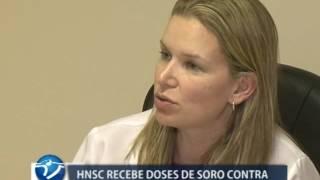 HNSC recebe soro que será usado em pesquisa acadêmica