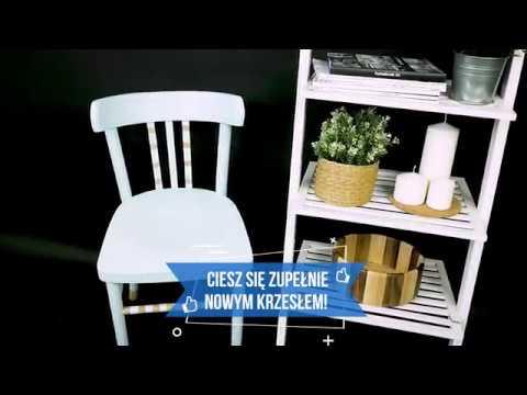 Jak szybko odnowić drewniane krzesło