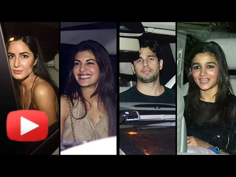 Sidharth Malhotra Birthday Party 2017 | Katrina Ka