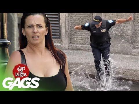 Politistul nebun (video)