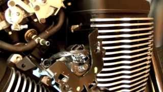 6. Victory First Service 2013 Highball accessing the 4 bolts that hold airbox down...