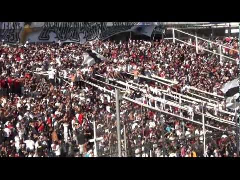 Vamos, vamos COLO COLO vamo´ a ganar... COLO COLO (1) - U. de Concepcion (2) Apertura 2012 - Garra Blanca - Colo-Colo