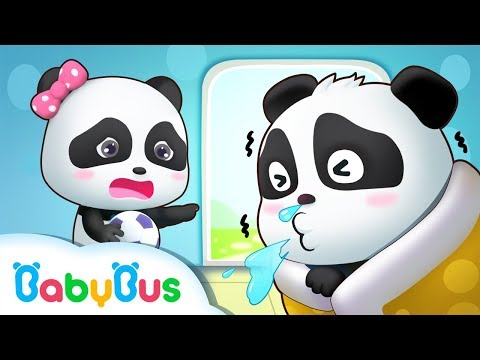 Panda Kiki Caught a Cold | Tips To Prevent A Cold | Doctor Pretend Play | Kids Good Habits | BabyBus (видео)