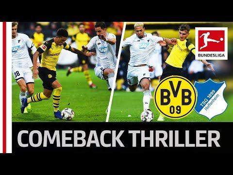 Dortmund vs. Hoffenheim   6 Goal Thriller in Dortmund with an Unbelievable Comeback