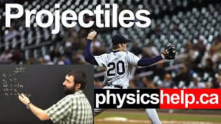 Physics Lesson:  Projectile Motion Part 1 For High School