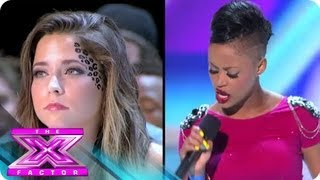 Boot Camp 2: Paige Thomas vs. CeCe Frey - THE X FACTOR USA 2012