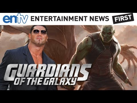 Dave Batista - Disney Marvel officially casts WWE's Dave Batista as Drax The Destroyer! He joins co-star Chris Pratt (Peter Quill, Star Lord) and director James Gunn. There...
