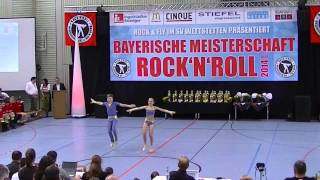 Kristina Schwingschlögl & Moritz Schmidt - Bayerische Meisterschaft 2014