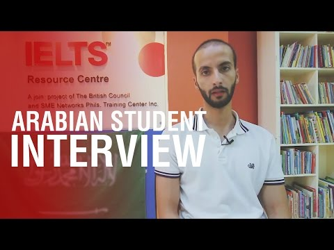 SMEAG Arabian Student Interview