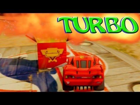 comment utiliser le turbo dans disney infinity