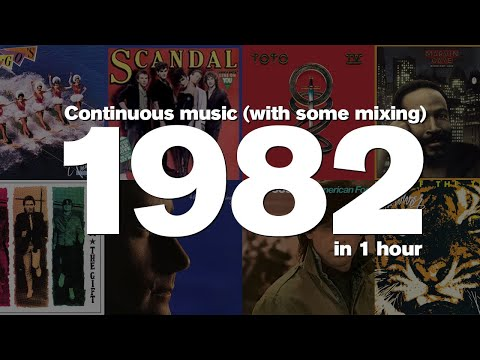 1982 in 1 Hour -Some of the most popular songs of the year.