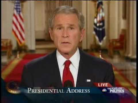 Bush's Address to Nation on Economic Meltdown
