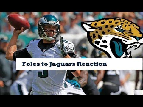 TCST: Does Nick Foles Improve the Jaguars