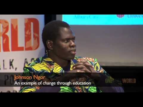 Johnson Ngor an example of change through education