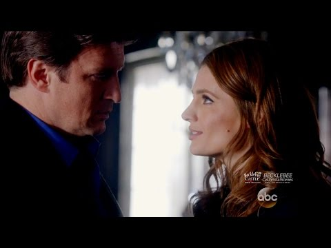 "Castle 8x11 End Scene Beckett & Castle  Plan  in Different Countries  ""Dead Red"" Season 8 Episode 11"